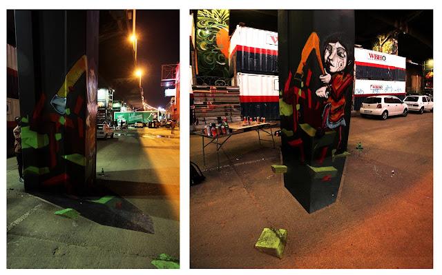 Dane Stops, Street Art