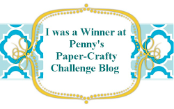I Won at Penny&#39;s Paper-Crafty Challenge