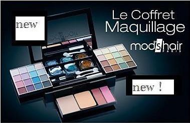 Un Coffret de maquillage 44 pièces Mod's hair offert par les 3 suisses bon plan gratuit