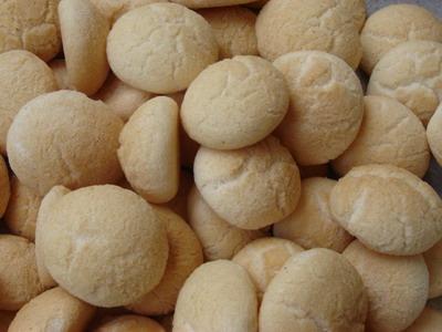 ขนมผิง_黄身、粉、ココナッツミルク、 砂糖の蒸したもの_Coconut Cream Cookie
