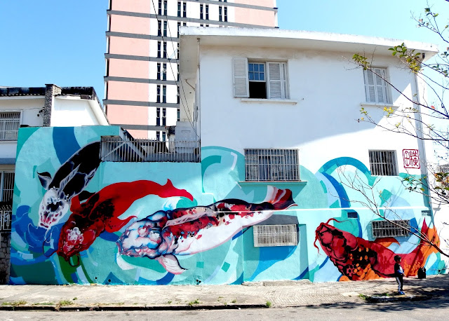 Brazilian Street Artist Titi Freak Newest Urban Mural In Sao Paulo, Brazil. 2