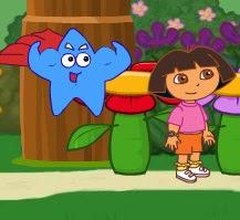 Dora Saves the Prince Map