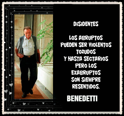 Mario Benedetti - poema de amor - te quiero - YouTube