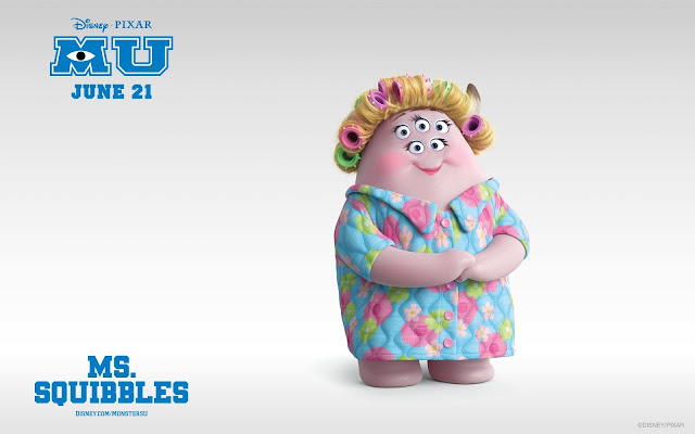 Ms.Squibbles In Monsters University