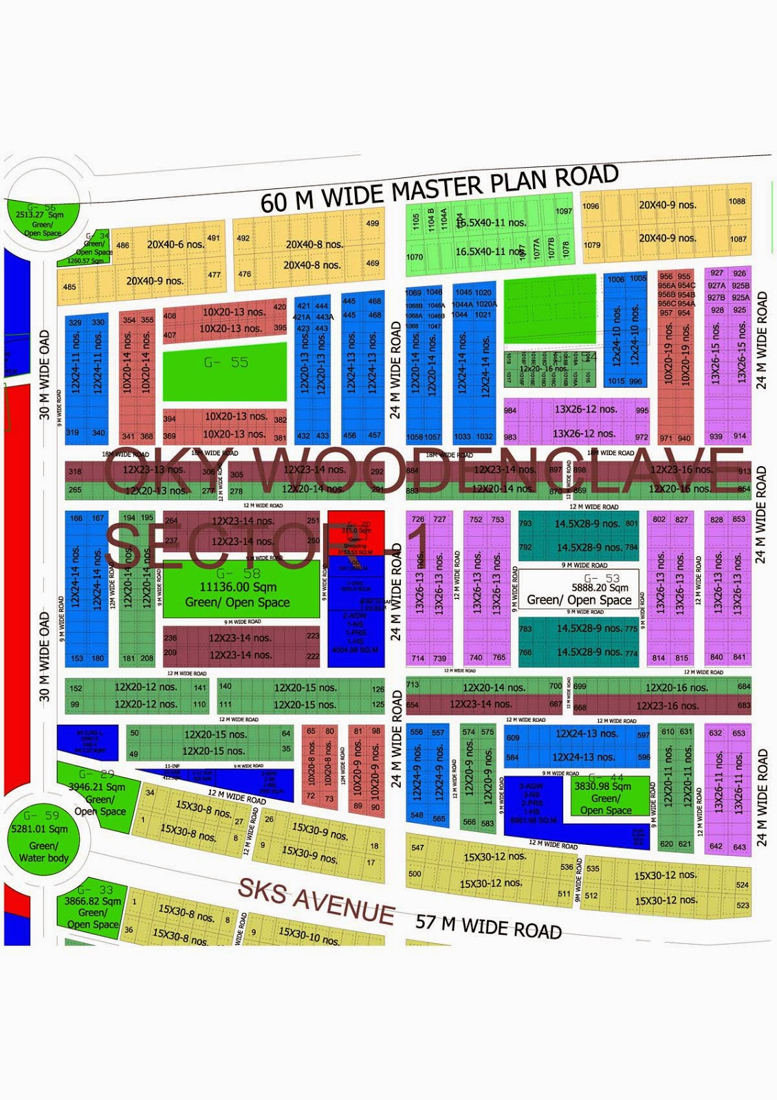Oky wood enclave sector 1 at wave city