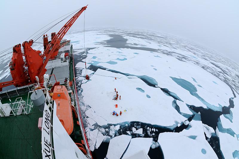 Chinare teadusekspeditsioon Põhja-Jäämerel, Chinare cruise on Xue Long