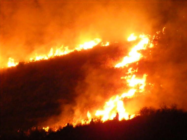 Fuego y destrucción