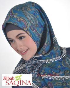 Model Jilbab Saqina