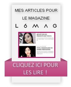 Rejoignez-moi sur le magazine L6MAG !