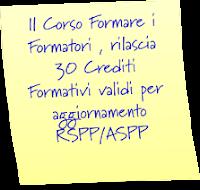 Crediti Formativi RSPP/ASPP