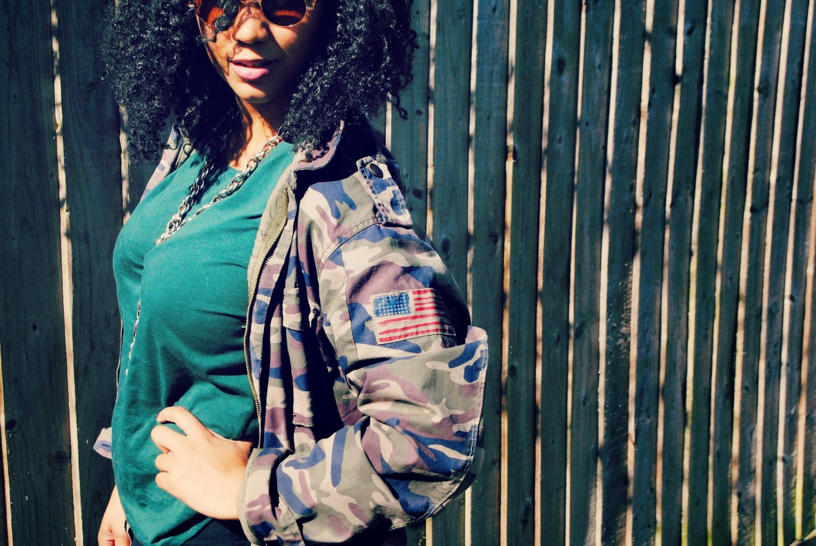 Army style jacket