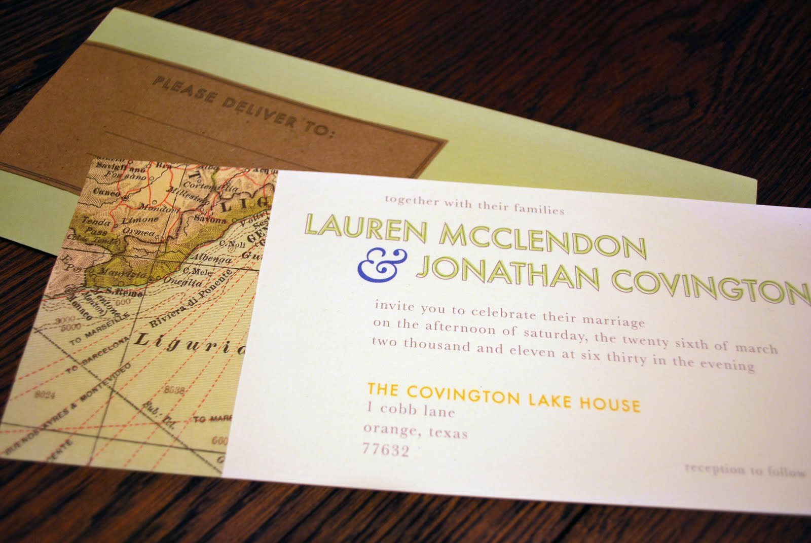 charm confetti vintage italian wedding invitations