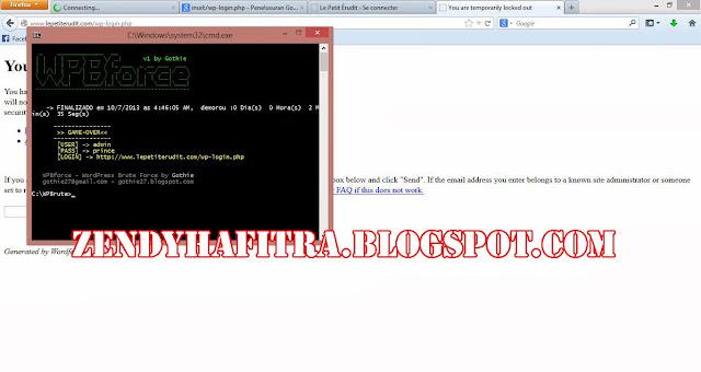 Cara Mudah Deface Website Wordpress Dengan WP Bruteforce