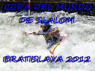 PIRAGÜISMO AGUAS BRAVAS-Copa del Mundo de slalom Bratislava 2012