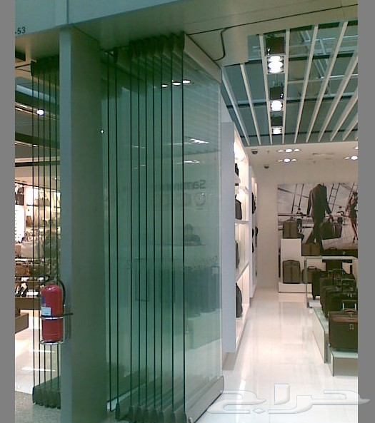 for Exterior sliding glass wall system