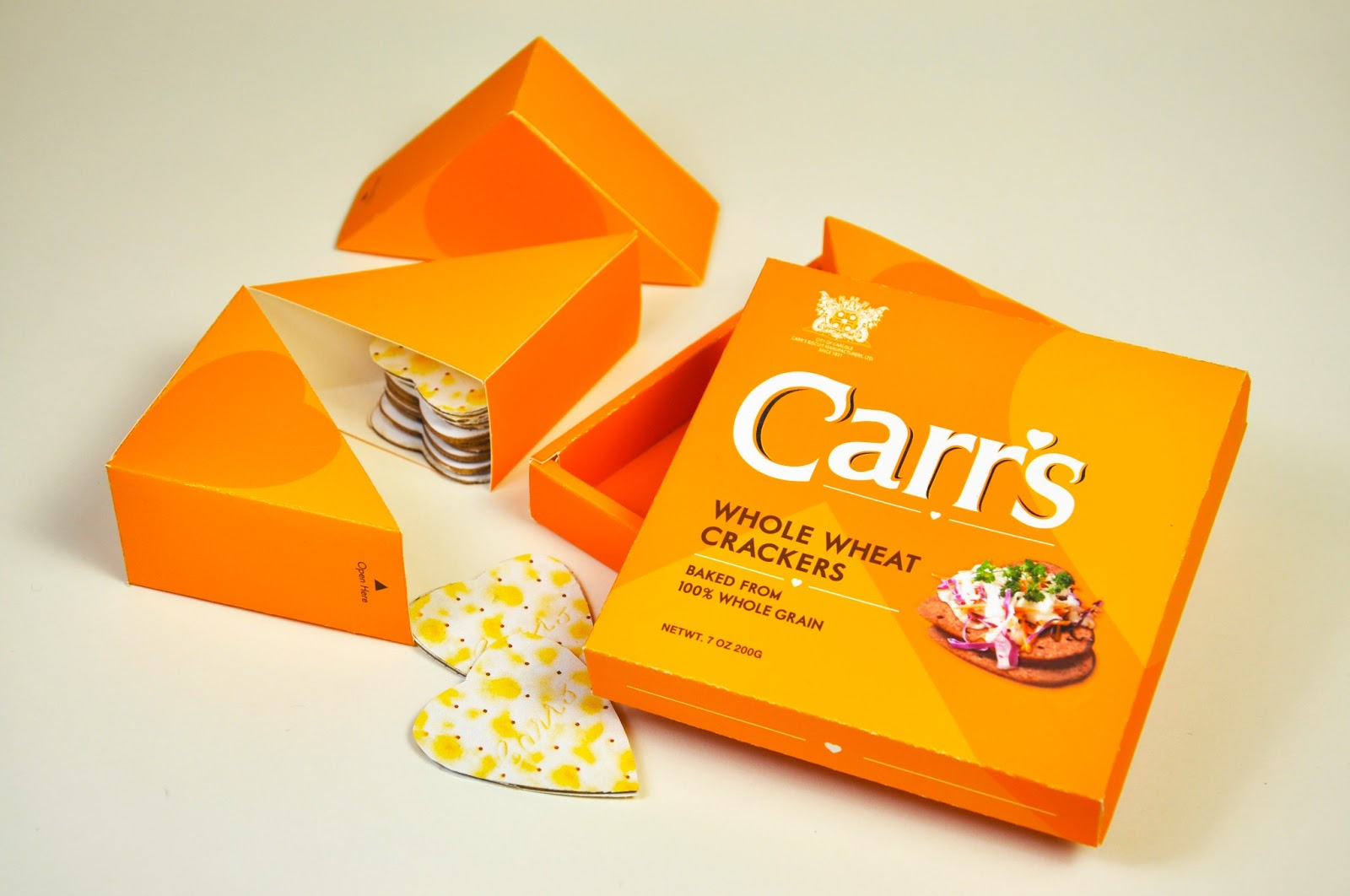 Carr's Biscuit (Student Project) on Packaging of the World