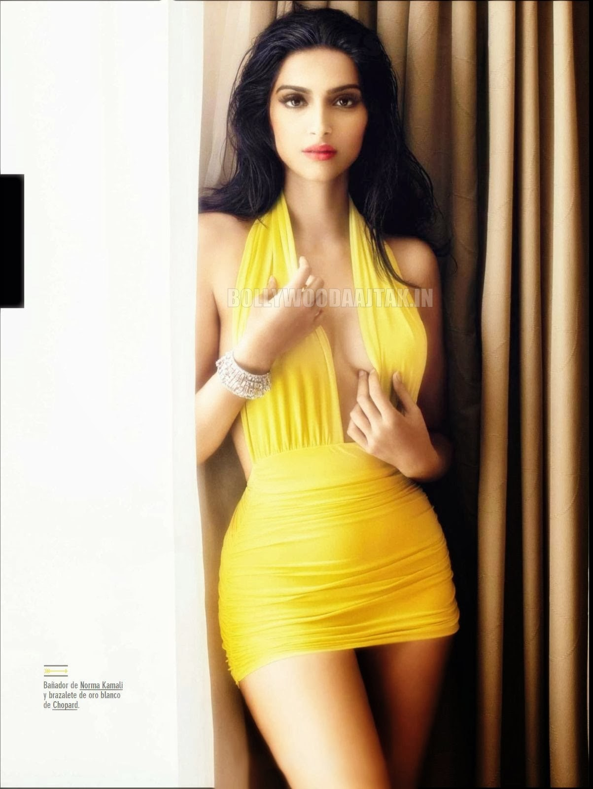 sonam kapoor: sonam kapoor gq magazine spain 2014 hq photoshoot