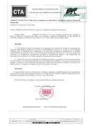 Solicitamos al Delegado Territorial el cumplimiento de la Ley de Prevención de Riesgos Laborales y