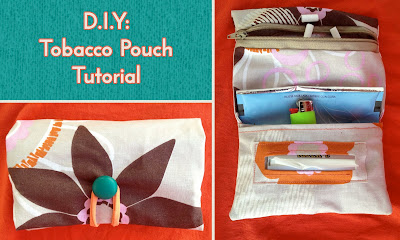 sewing tobacco pouch