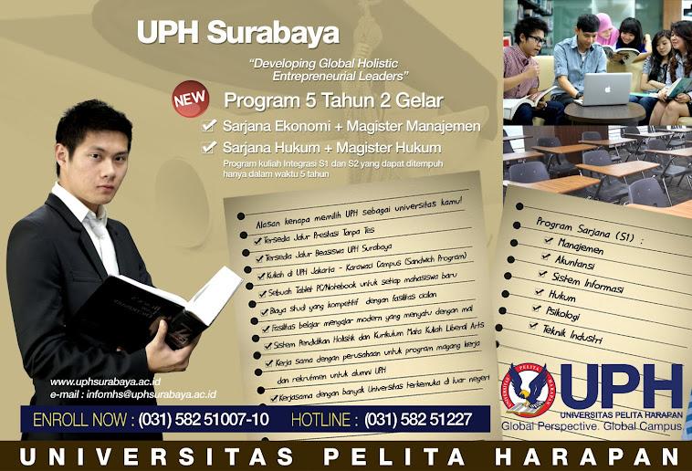 Promosi UPH Surabaya CITO Waru -Sby JATIM....