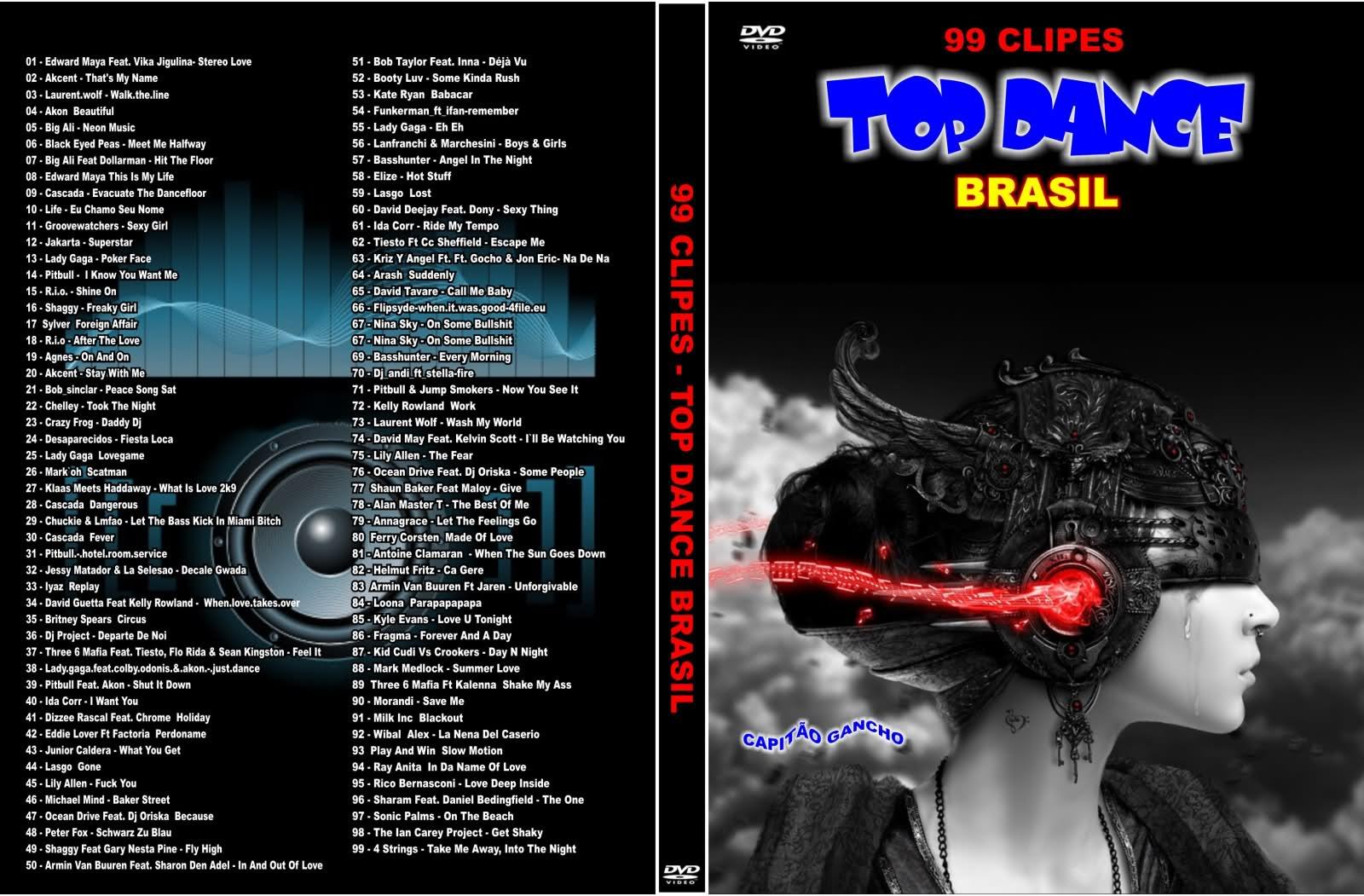 99 Clipes Top Dance Brasil Vol. 1 DVD-R 23t4j0i