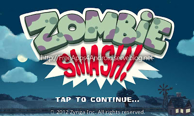 ZombieSmash Free Apps 4 Android