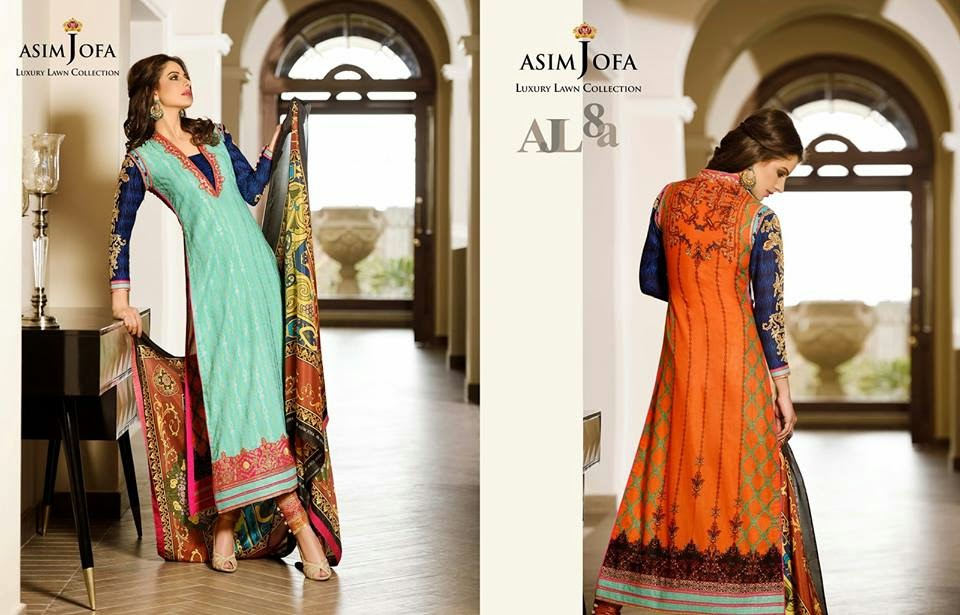 Asim Jofa 2015 lawn collection