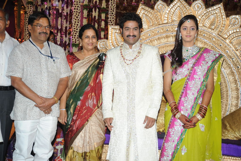 Celebrities  Jr NTR  Pranathi s Marriage show stills
