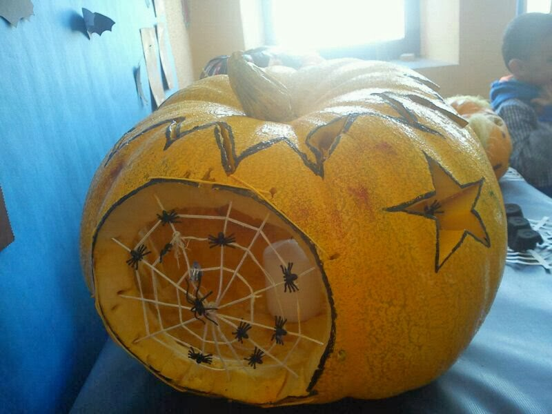 Spiders-Pumpkin