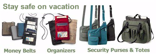 Secure travel accessories