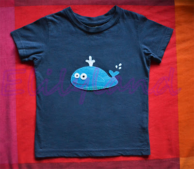 Camiseta Infantil Fieltro a Mano