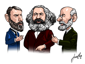 marx and weber s different approaches to Read this essay on difference between the two theories of karl marx and max weber relevant in today's vastly different his approach to the.