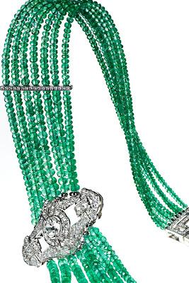 EmeraldNeclace diamondneclace weddingneclace engagementneclace neclace whitegoldneclace252842529 - Fabolous Necklace :)