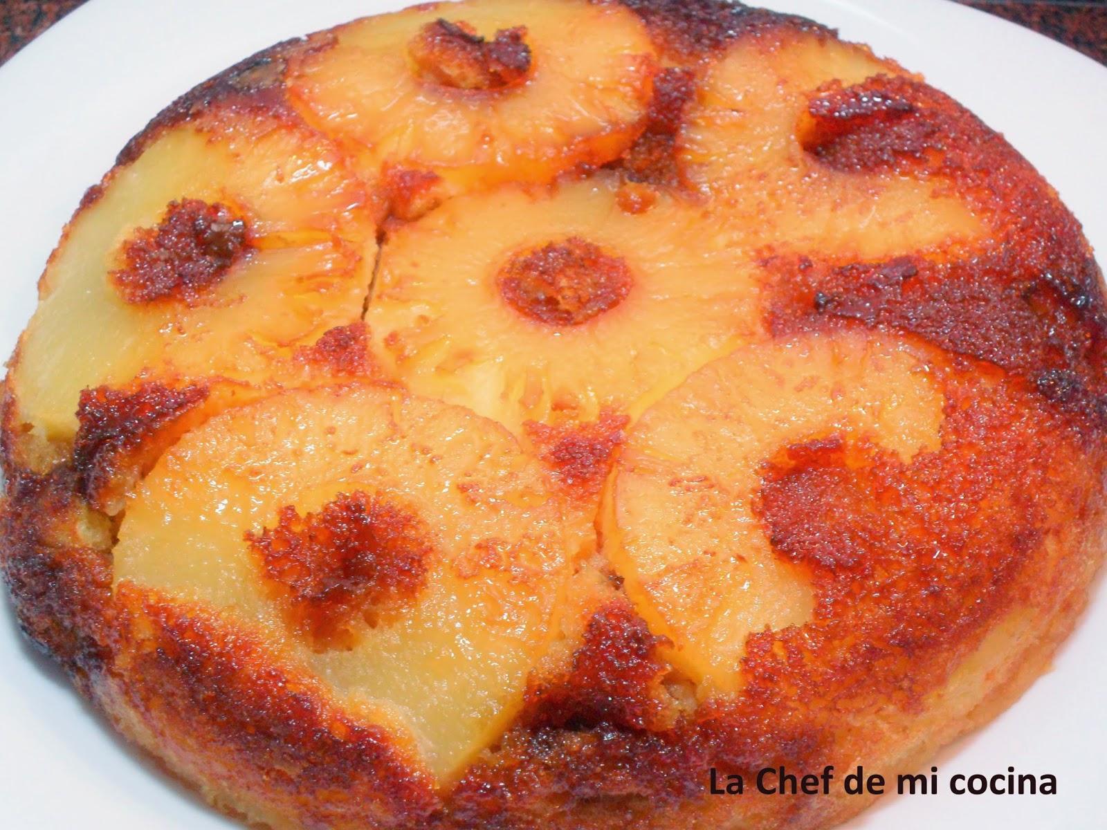 La chef de mi cocina bizcocho de pi a multicook pro de - Tefal multicook pro recetas ...