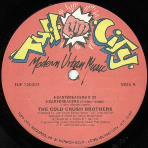 Cold Crush Brothers ‎– Heartbreakers (VLS) (1985) (256 kbps)