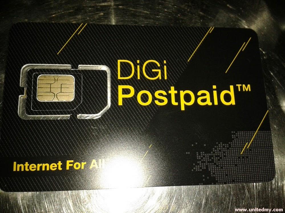 Digi Broadband postpaid Sim Card