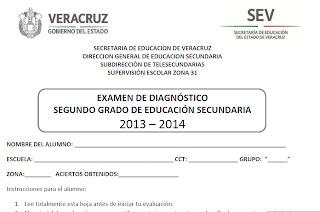 DIAGNÓSTICO 2013-2014: CRONOGRAMA, CONCENTRADOS, HOJAS DE RESPUESTAS