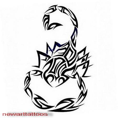 Tribal scorpion tattoos - photo#6