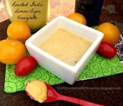 garlic roasted lemon dijon dressing marinade vinaigrette chicken shrimp