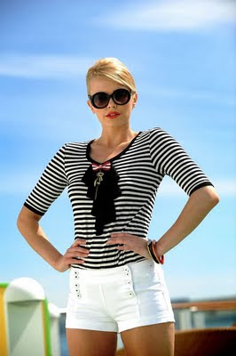 Women Nautical Fashion Chic  by Paul&Shark