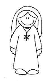 Desenhos Religiosos para imprimir