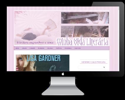 """Template do Blog """"Minha vida Literária"""" by Jéssica Guedes ( http://www.jessicaguedes.com )"""