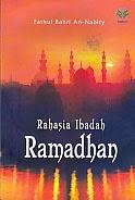 toko buku rahma: buku RAHASIA IBADAH RAMADHAN, pengarang fathul bahri, penerbit amzah