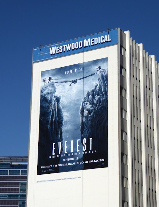 Giant Everest film billboard