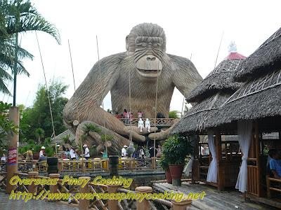 Isdaan sa Calauan - Giant Gorilla