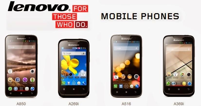 Harga Terbaru Handphone Lenovo Untuk Bulan Mei 2014