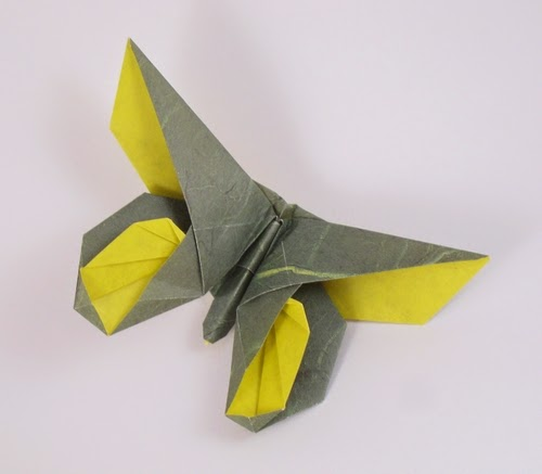 origami butterfly for kids
