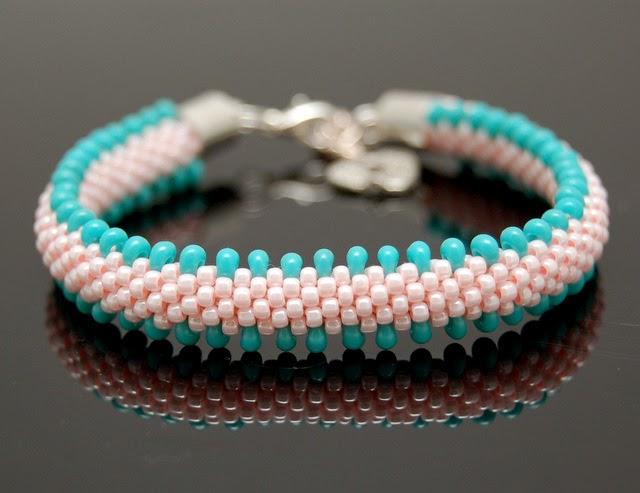 bransoletka koralikowa bead crochet bracelet inati zare 8