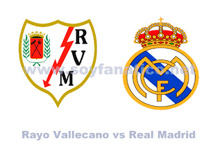 Rayo Vallecano vs Real Madrid - Liga BBVA 2012