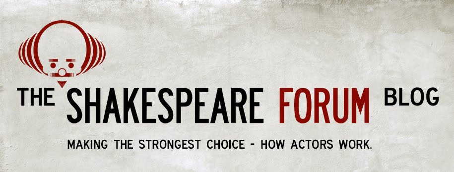 The Shakespeare Forum - Blog
